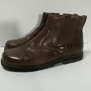 Keen Men's Leather Slip On Boots 1013797 Sz.12